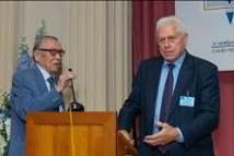 Слева на право Р.М. Юсупов и Г.П. Аншаков